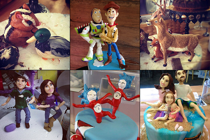 CustomCakes_HandSculptedFigures